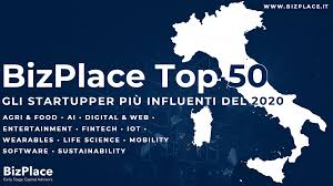 top 50 startupper più influenti