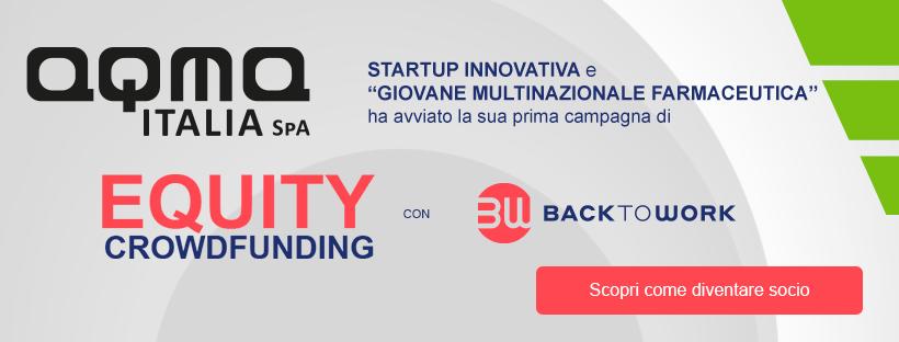 EQUITY Crowdfunding. Diventa socio di AQMA